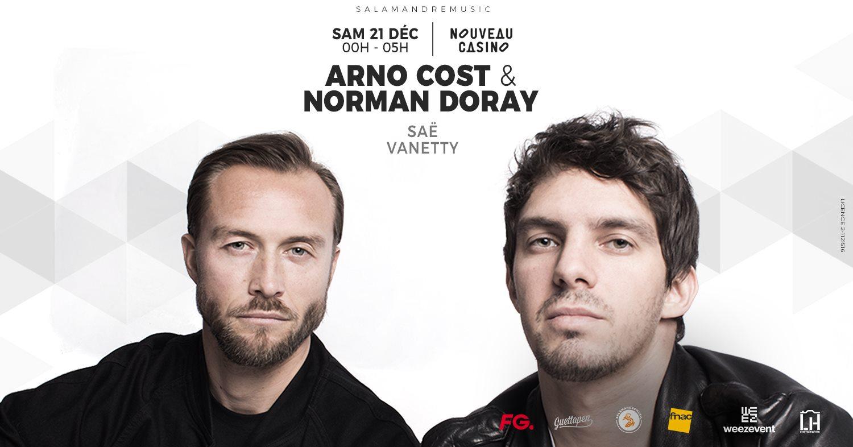Arno Cost & Norman Doray - Nouveau Casino