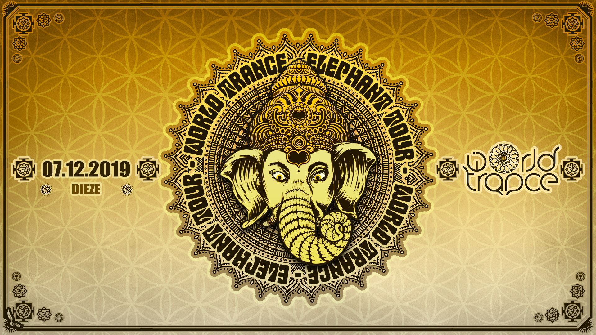 World Trance - Elephant Tour w/ Undercover, Hammerer, Unlogix, Kalki Dieze