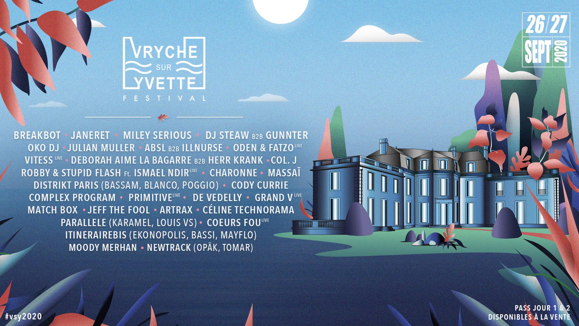[REPORTÉ] Vryche Sur Yvette Festival 2021