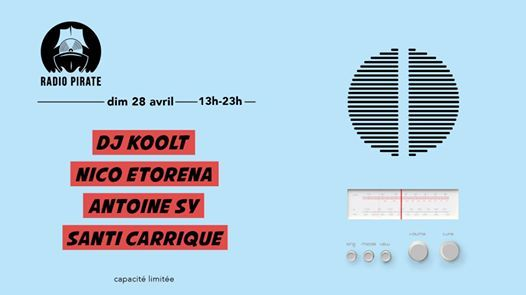 Radio Pirate : Montevideo Frequencies