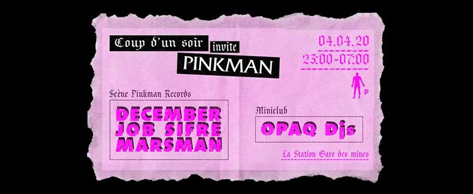 Coup D'un Soir invite Pinkman Records