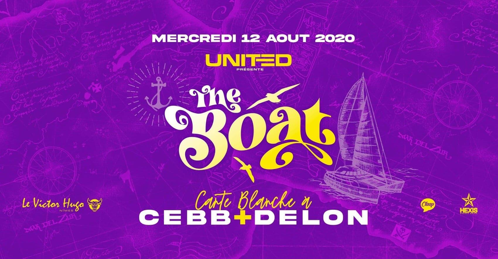THE BOAT by United : carte blanche à Cebb + Delon