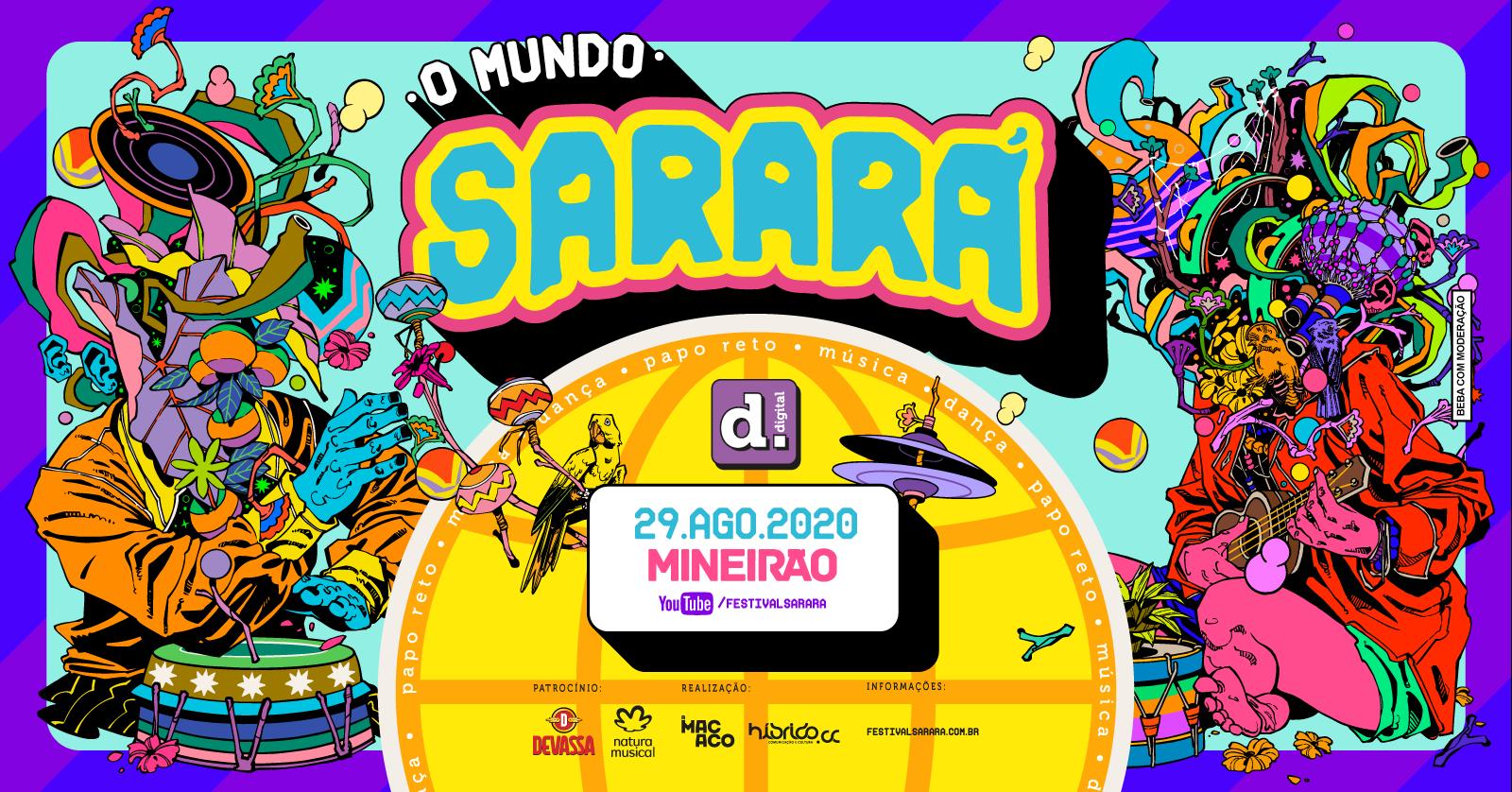 Festival Sarará Digital 2020 | Belo Horizonte 🇧🇷