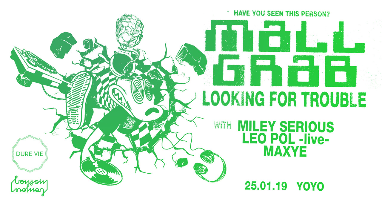 Mall Grab all night long: Looking For Trouble Tour w/ Miley Serious