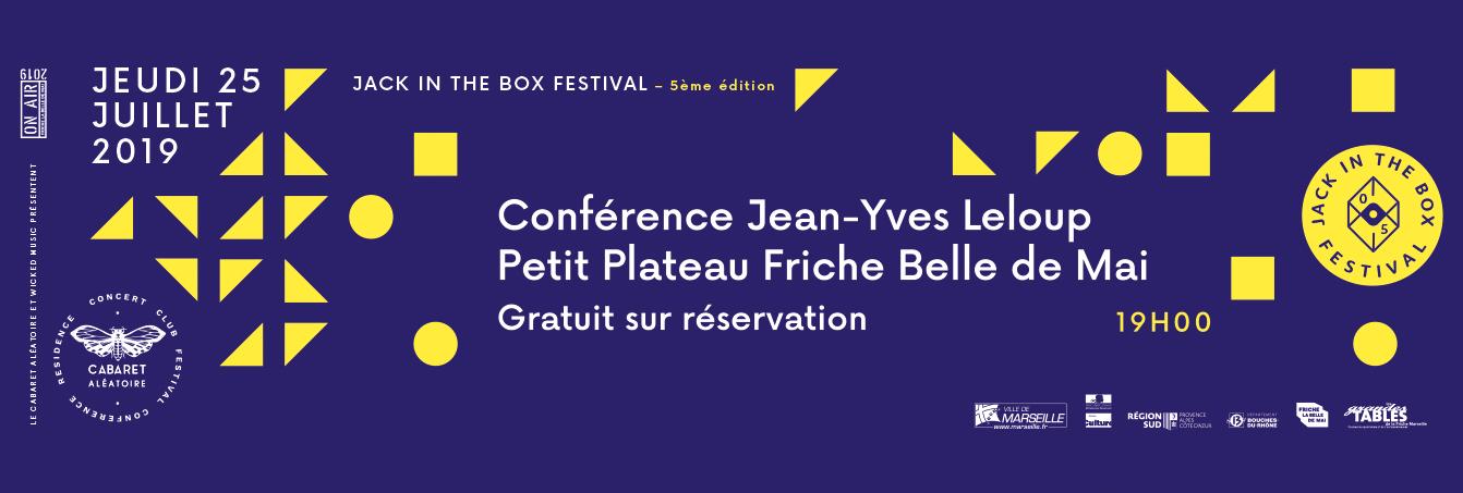 CONFERENCE JEAN YVES LELOUP : Retour vers la techno >1981 - 2019 ...