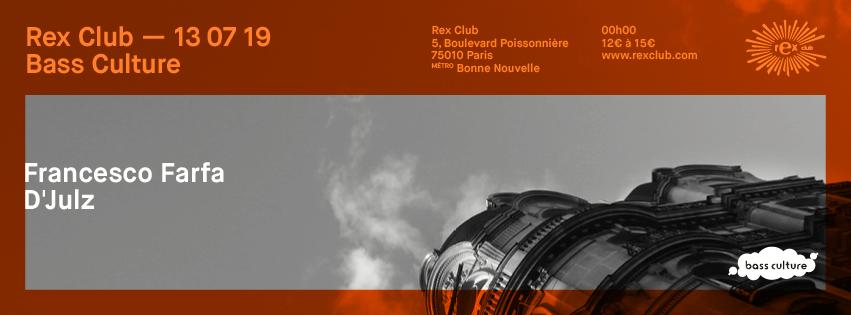 Bass Culture: Francesco Farfa & D'Julz