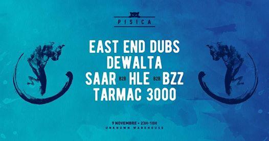 Pisica Warehouse : East End Dubs, Dewalta & more