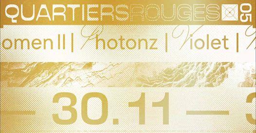 Quartiers Rouges .05 : Betonkust & Palmbomen II, Violet, Photonz