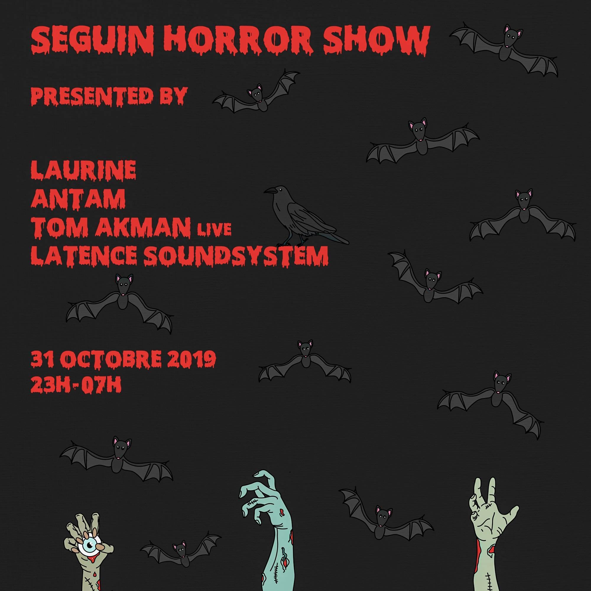 Horror Show : Laurine, Antam, Tom Akman (live) by Latence