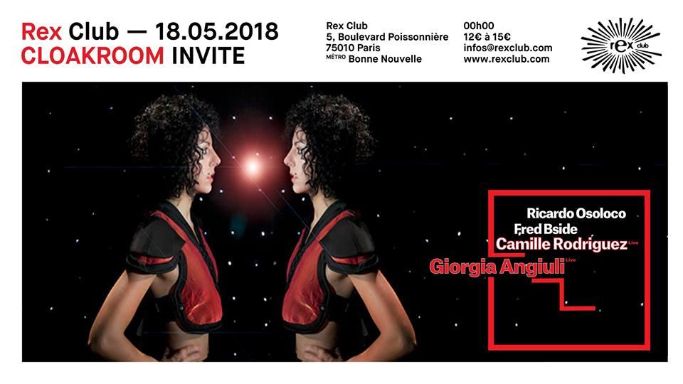 Cloakroom Invite Giorgia Angiuli