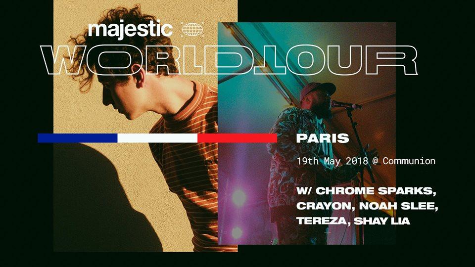 MAJESTIC CASUAL PARIS  WORLD TOUR
