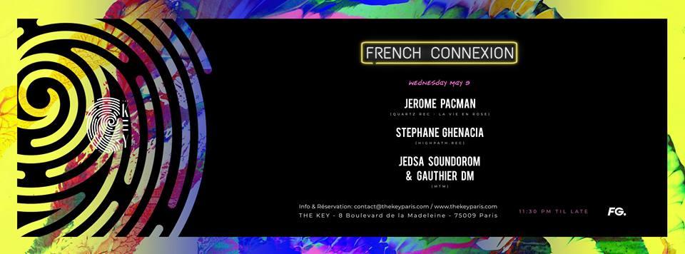 The Key x French Connexion: Jerome Pacman, Stephane Ghenacia, MTM (Gauthier DM & Jedsa Soundorom)