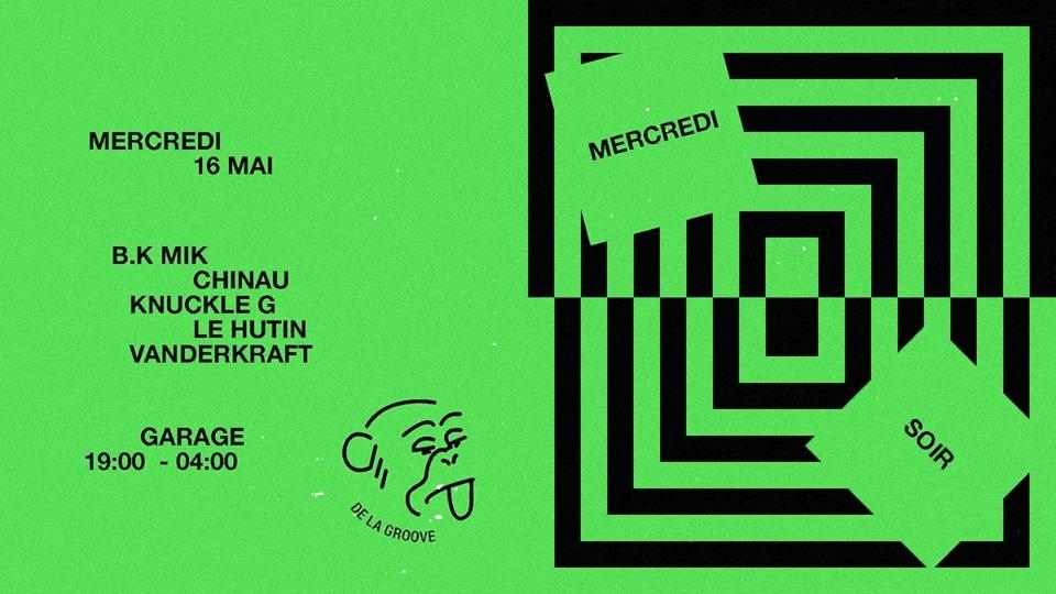 Mercredi Soir : De La Groove 1st anniversary