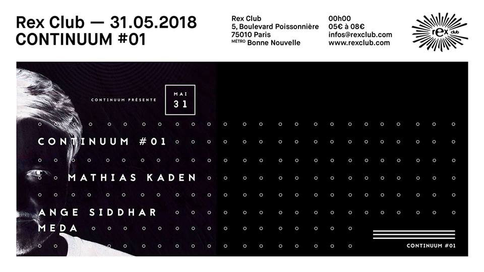 Continuum #01 • Mathias Kaden, Ange Siddhar, Meda