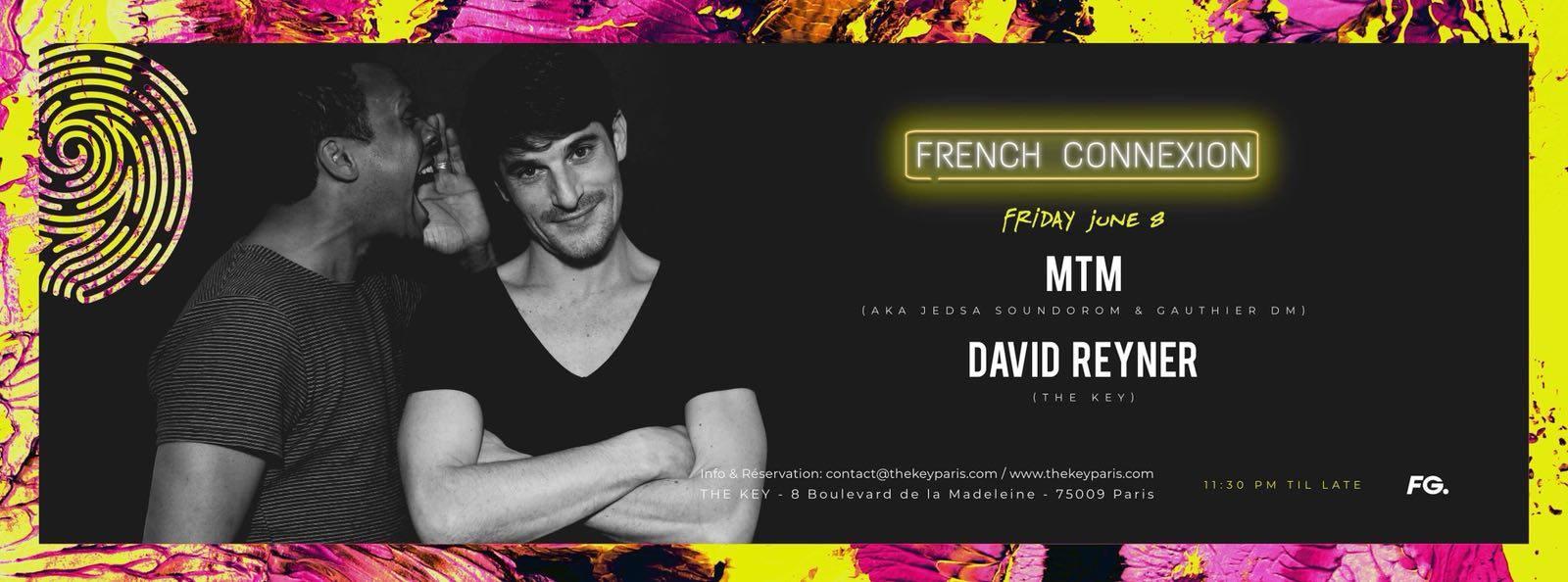 The Key x French Connexion : MTM, David Reyner