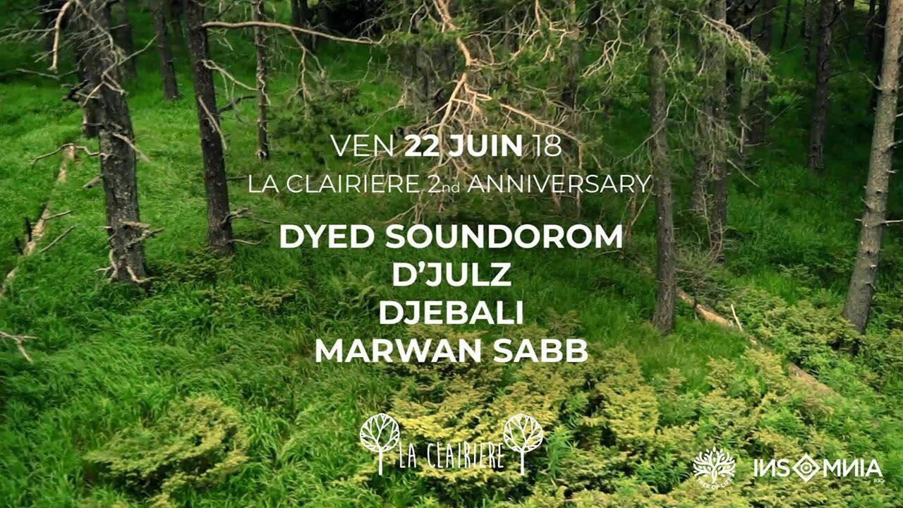La Clairière 2nd Anniversary x Insomnia : Dyed Soundorom, D'Julz