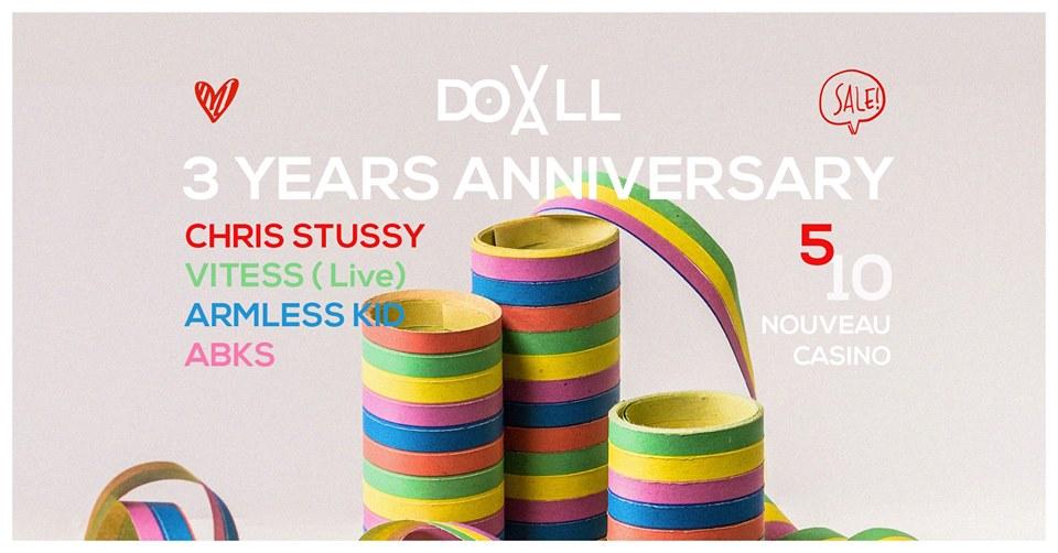 Doxall 3 Years Anniversary Part 1