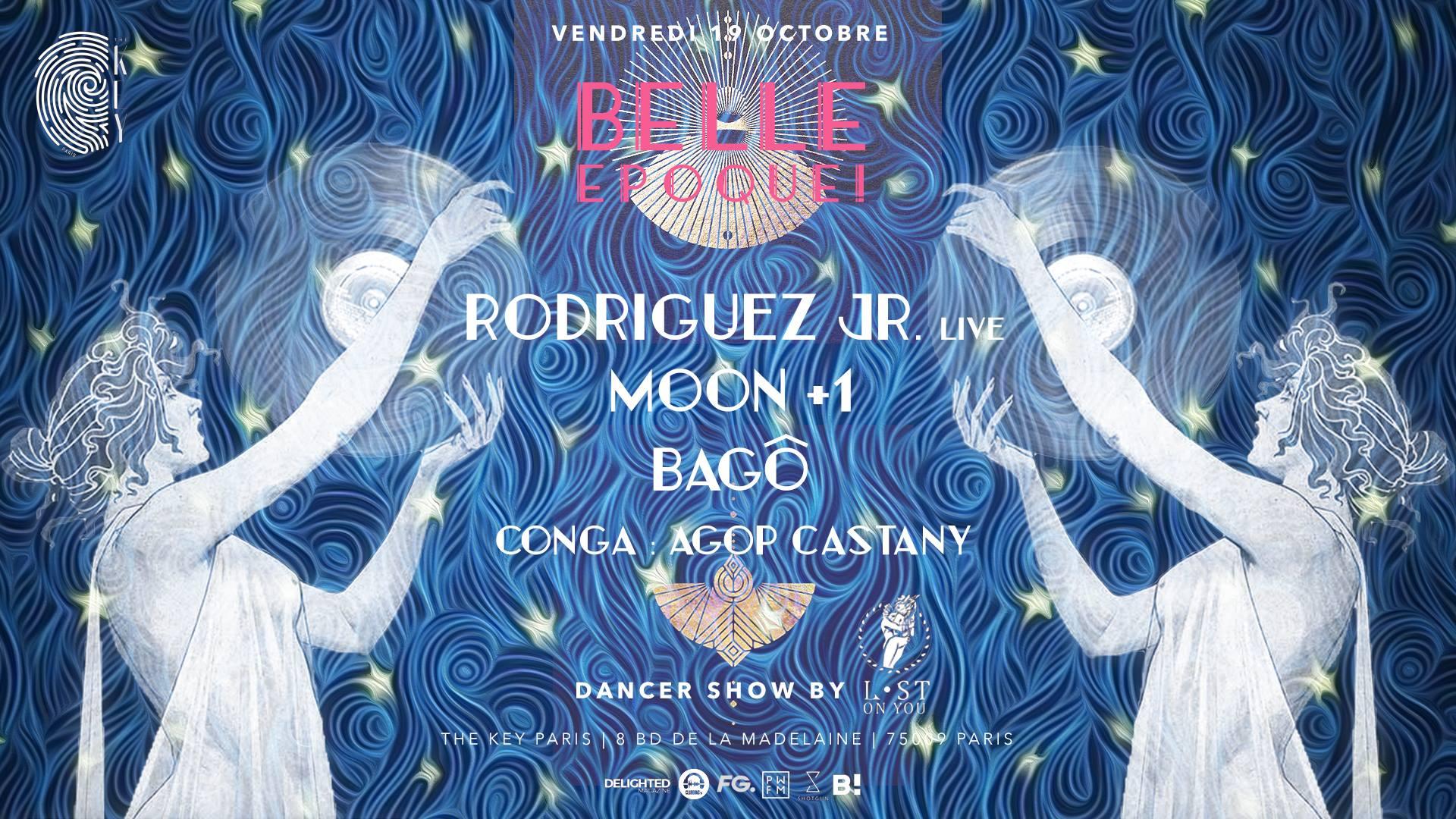 The Key x Belle Epoque! : Rodriguez Jr. (Live) , Bagô, Moon +1