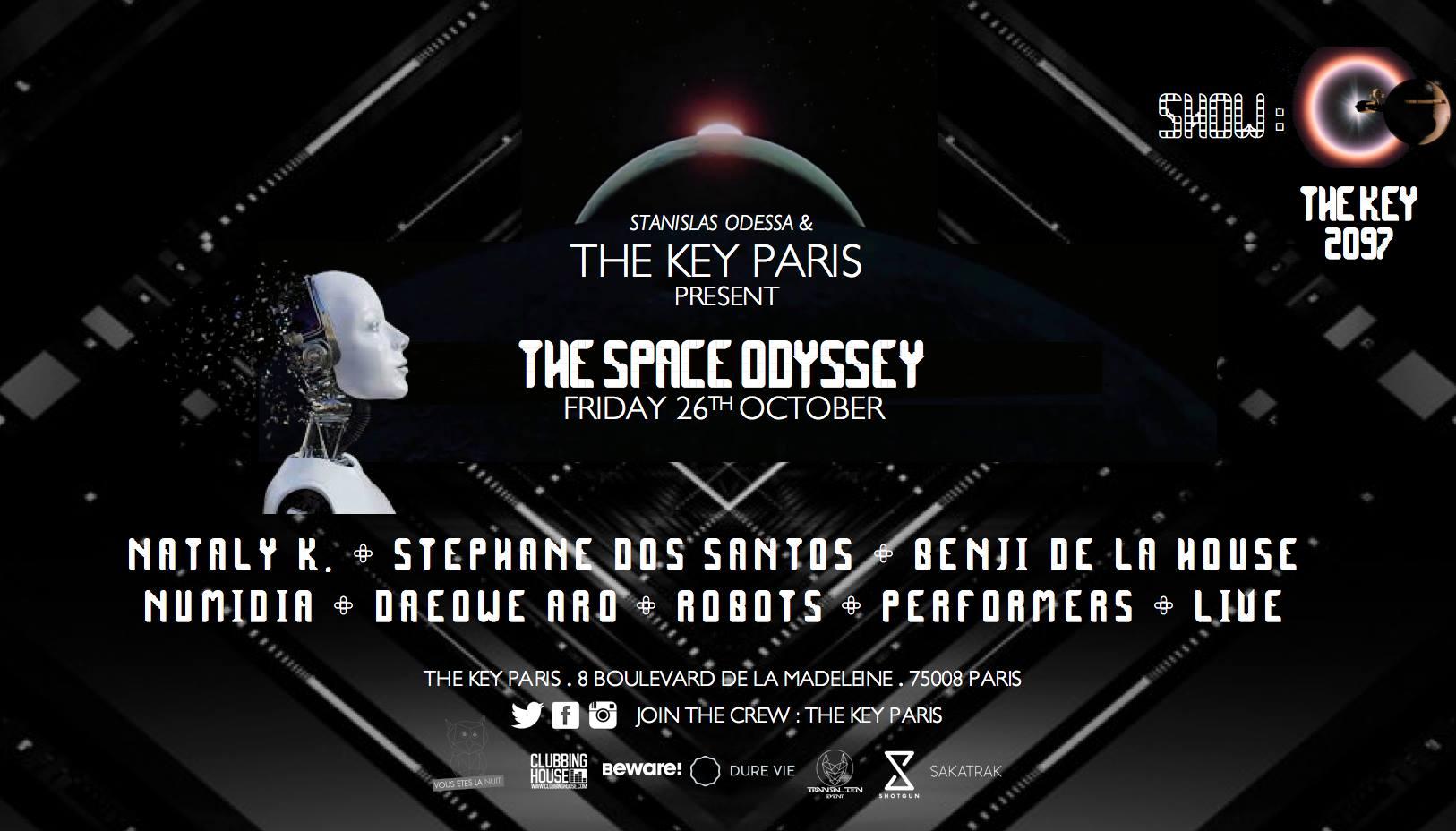 The Key Paris x The Space Odyssey