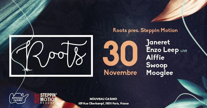 Roots pres. Steppin Motion w/ Janeret