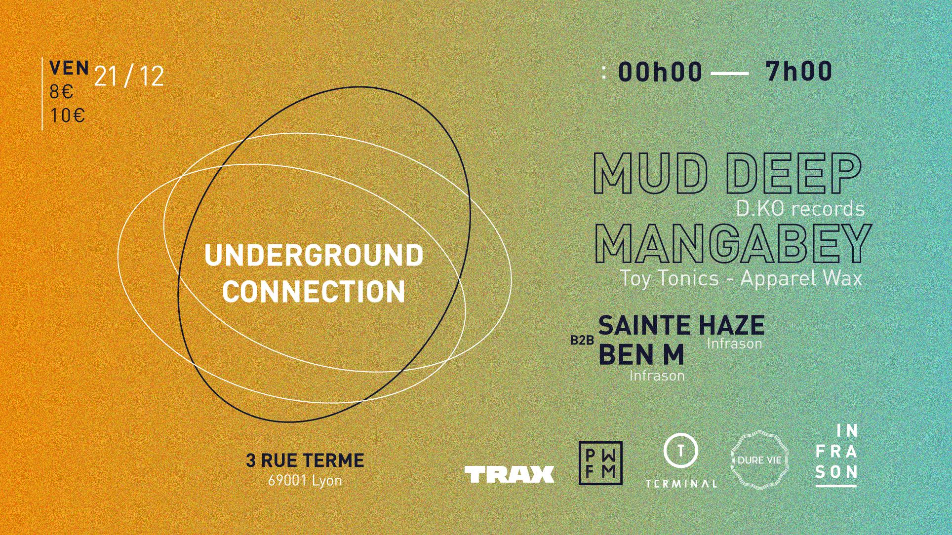 Underground Connection #2 w/ Mud Deep - Mangabey