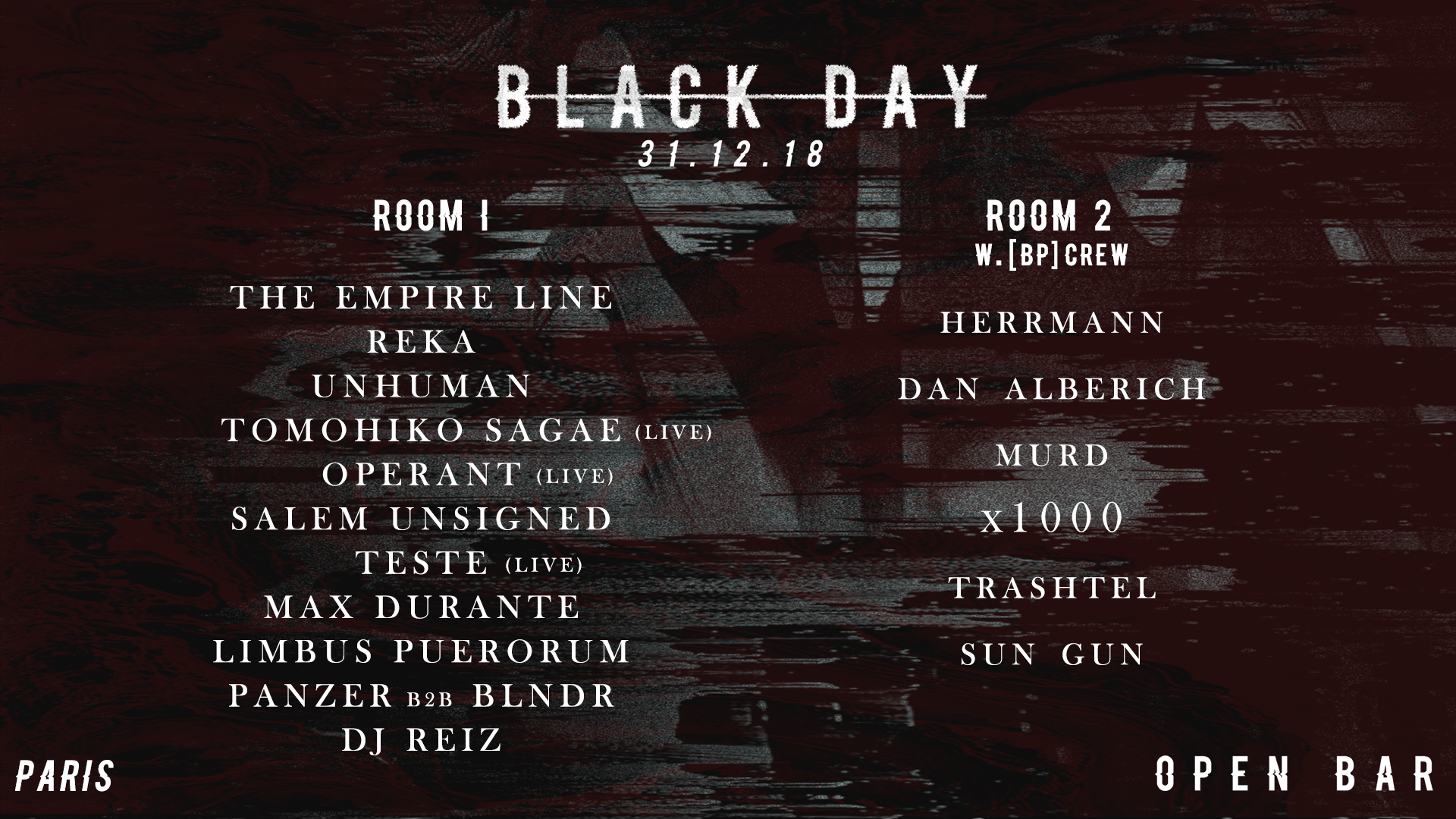 BLACK DAY : New Year