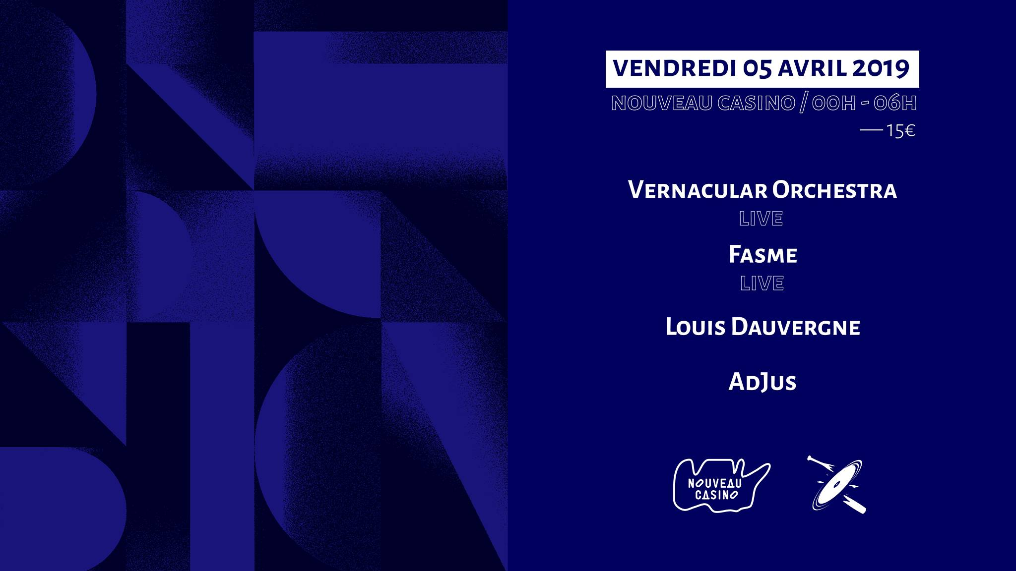 Increase the Groove w/ Vernacular live, Fasme live & more
