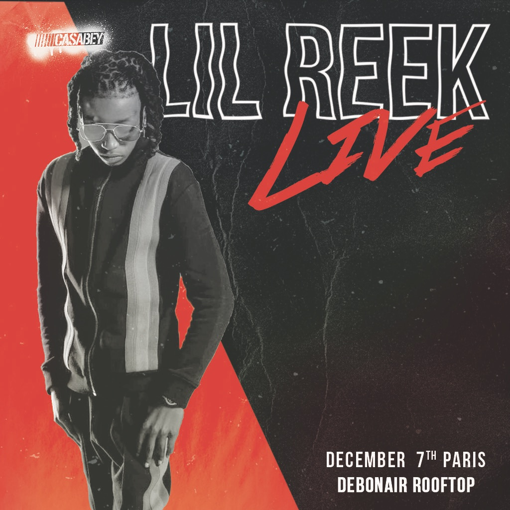 Rap & Burgers Lil Reek Live , Vendredi 7 Décembre à Debonair