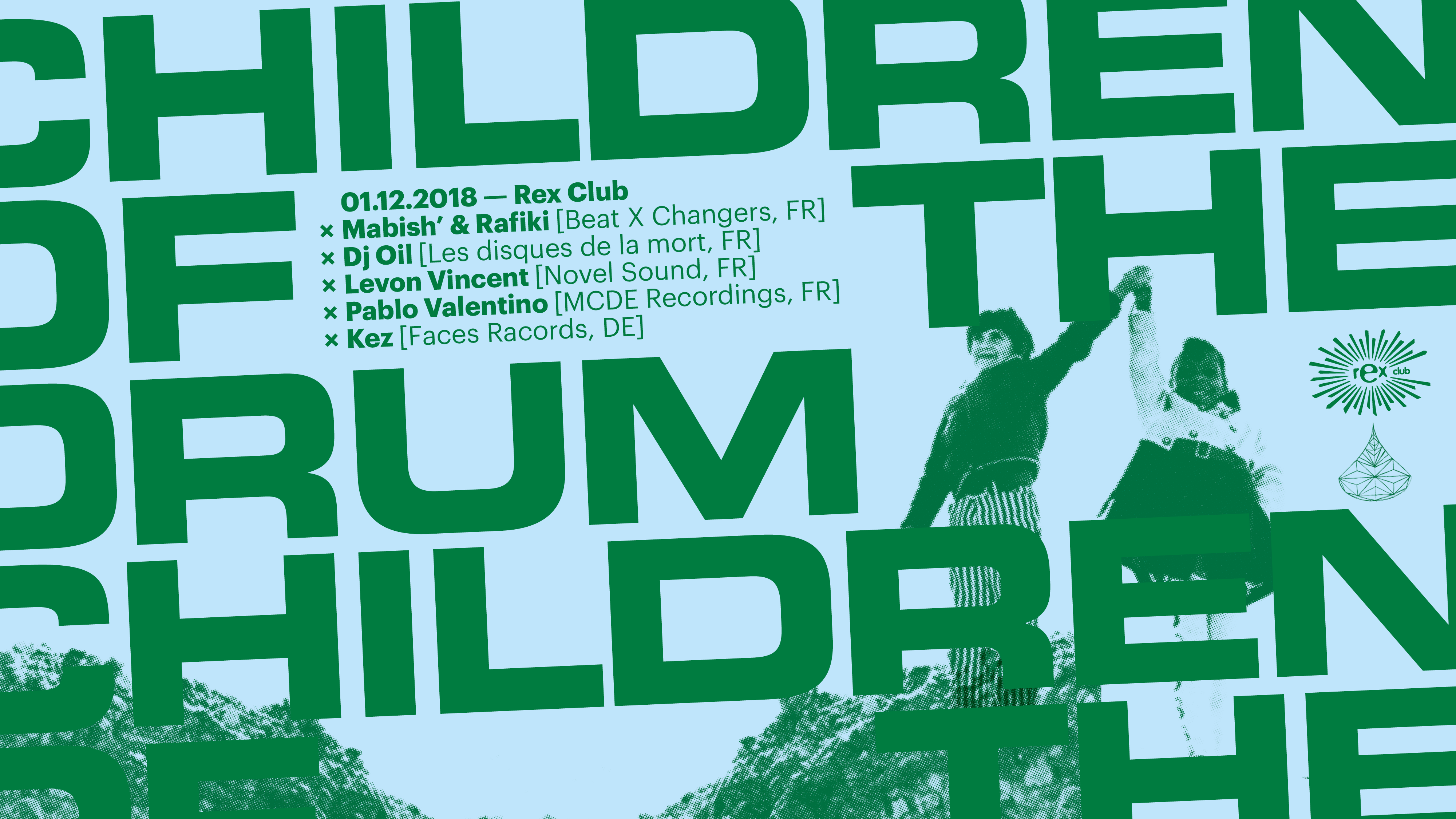Children Of The Drum x Tape Water: Levon Vincent, Dj Oil & more