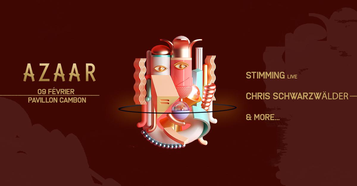 Azaar ~ Stimming (live), Chris Schwarzwälder & more...
