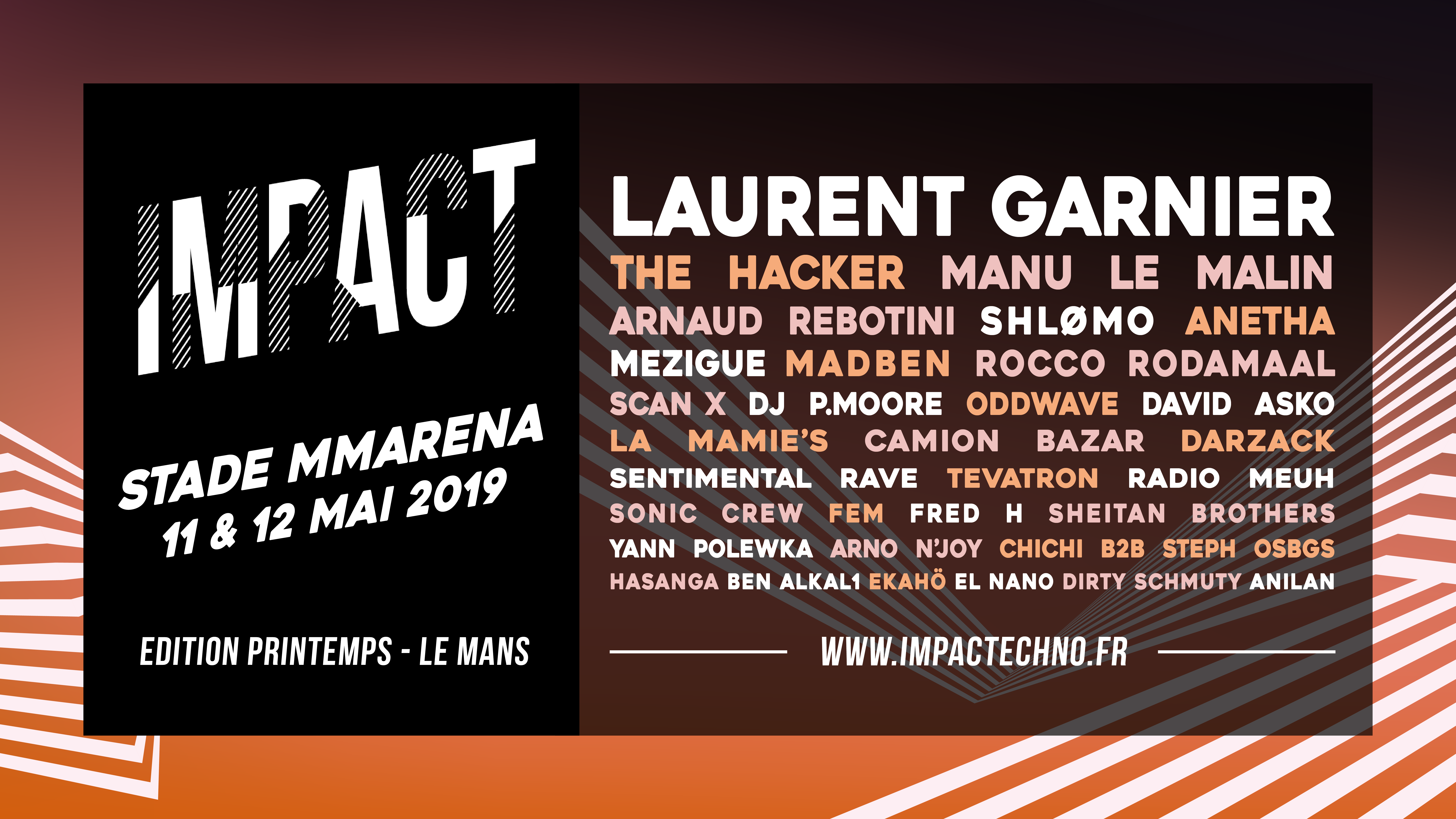 Impact: Stade MMArena 2019