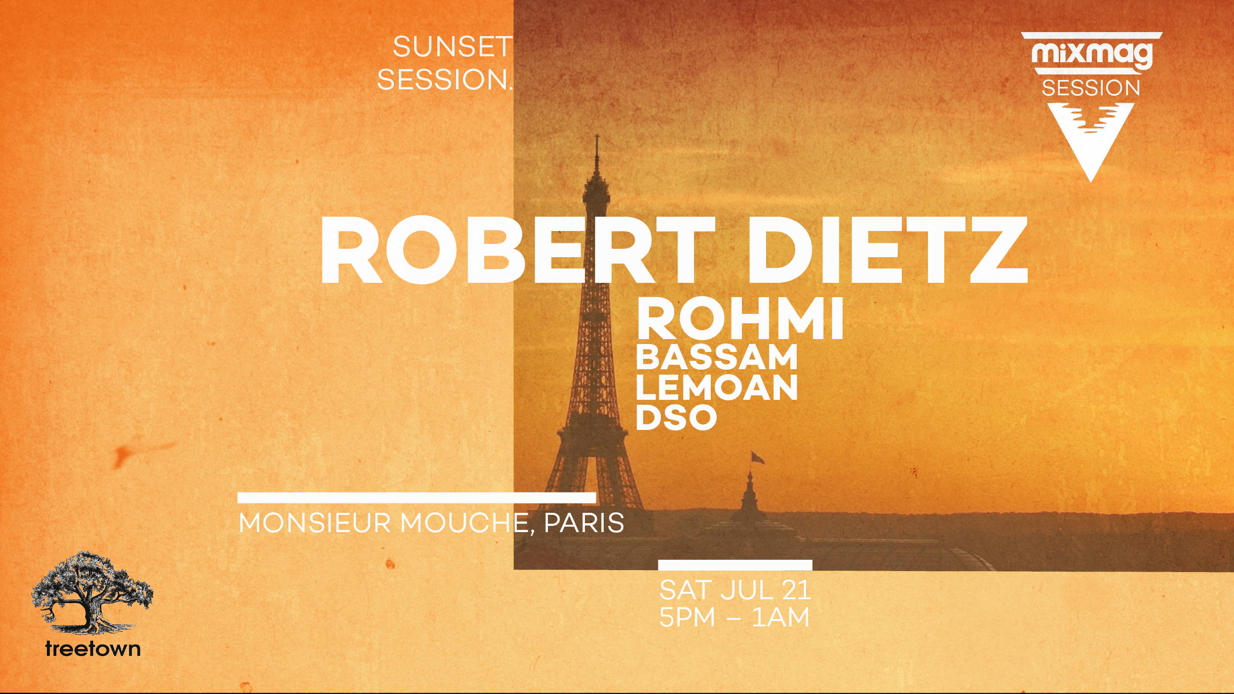 Mixmag x Treetown Sunset Session W/ Robert Dietz