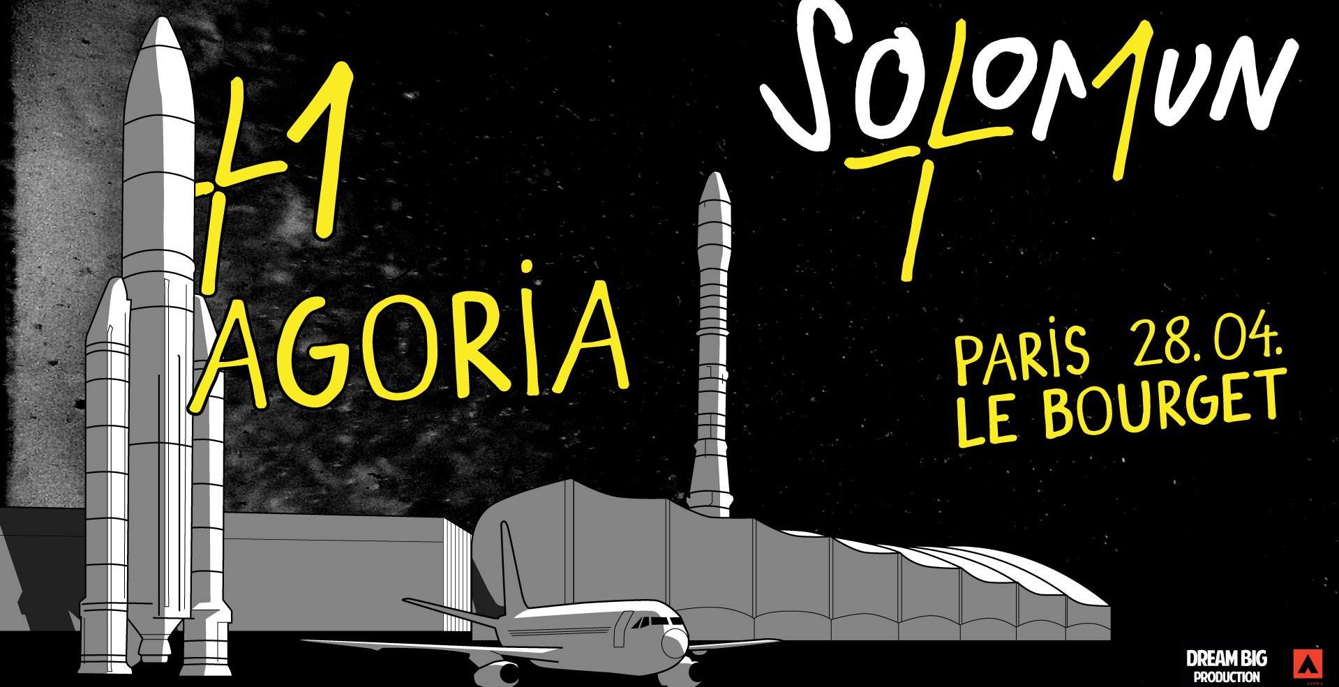 Solomun + 1 in Paris / with Agoria