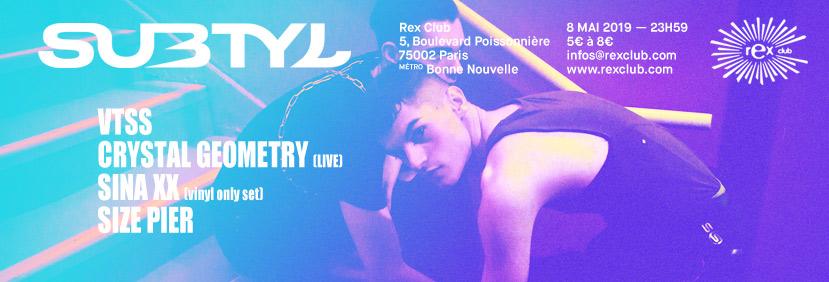 Subtyl x Rex Club : VTSS, Crystal Geometry