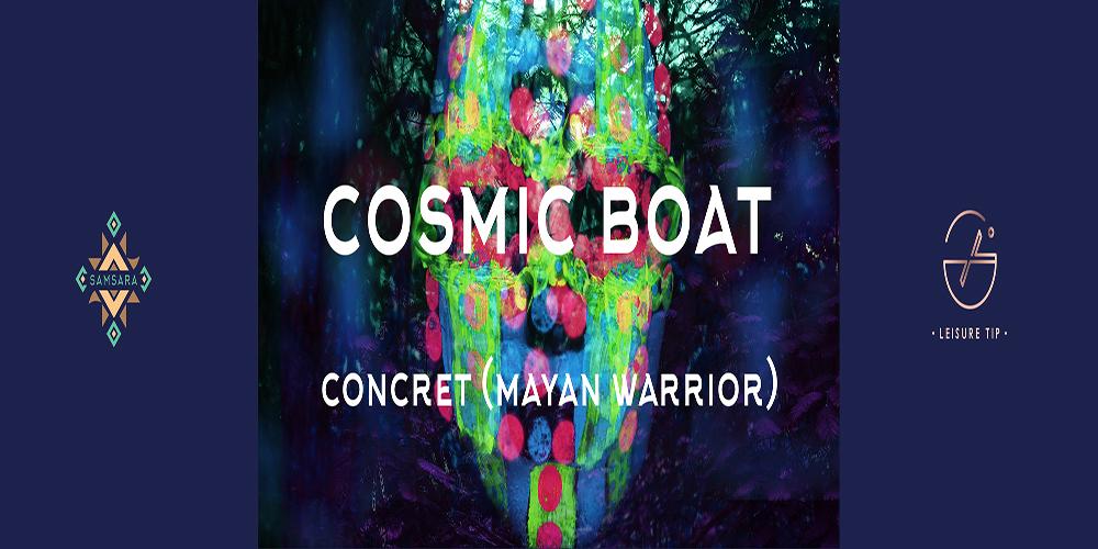 Cosmic boat (Samsāra)