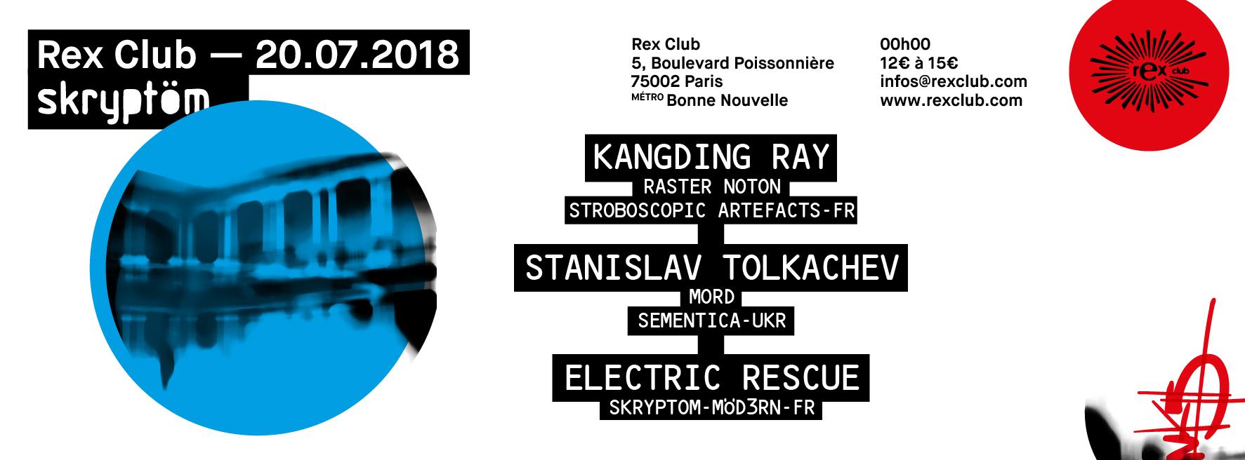 Skryptom: Kangding Ray, Stanislav Tolkachev, Electric Rescue