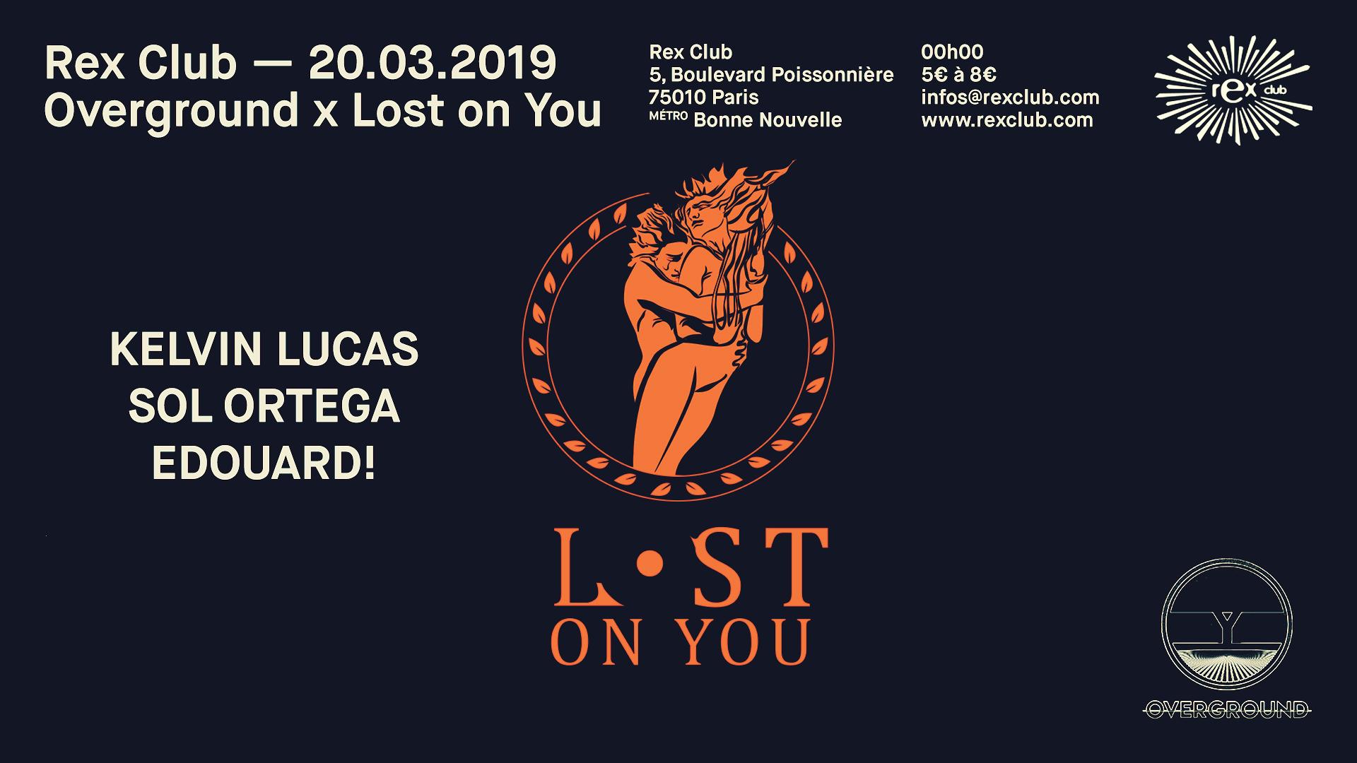 Overground x Lost On You: Kelvin Lucas, Sol Ortega, Edouard