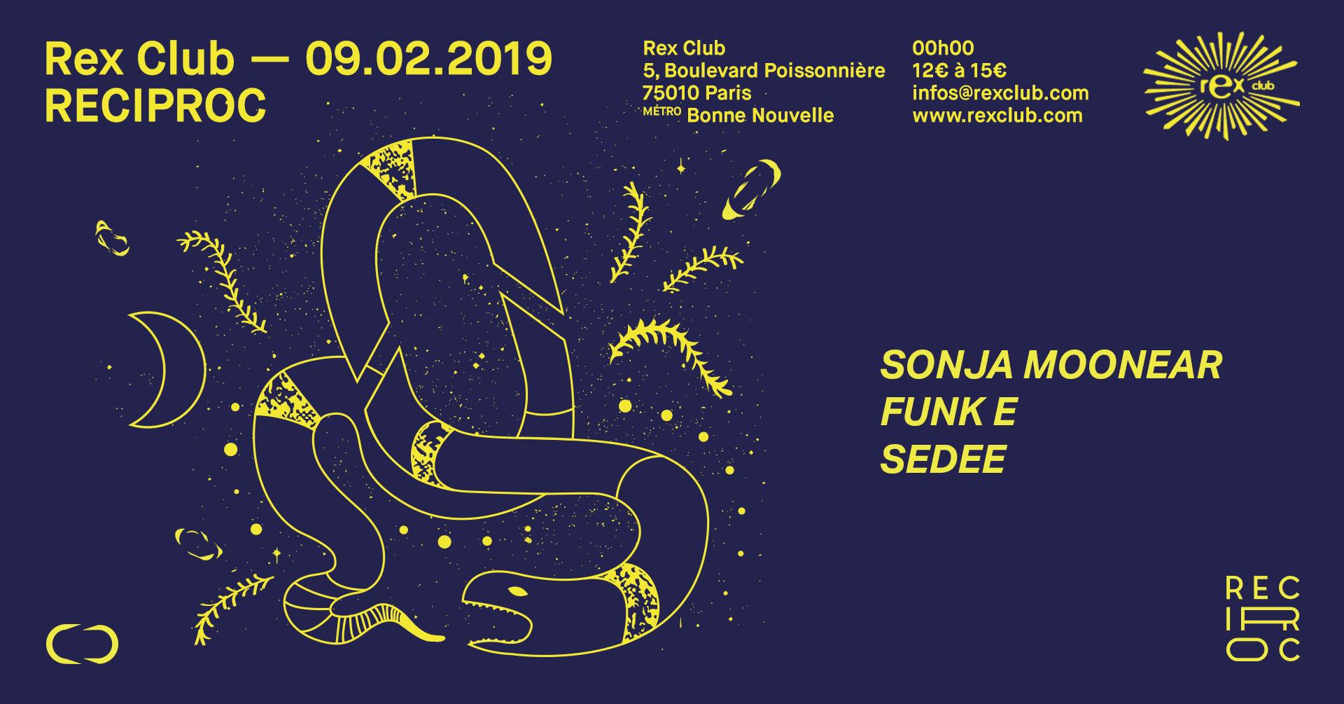 Reciproc ⋐ 5 ⋑ Sonja Moonear, Funk E, Sedee