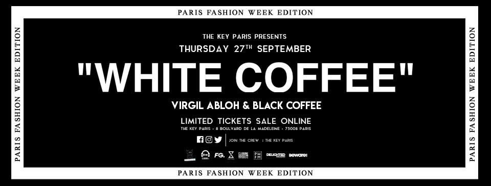 """White Coffee"" : Virgil Abloh & Black Coffee"