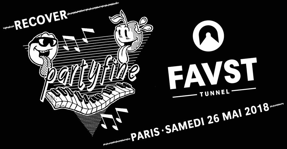 Faust x Partyfine : Yuksek & friends