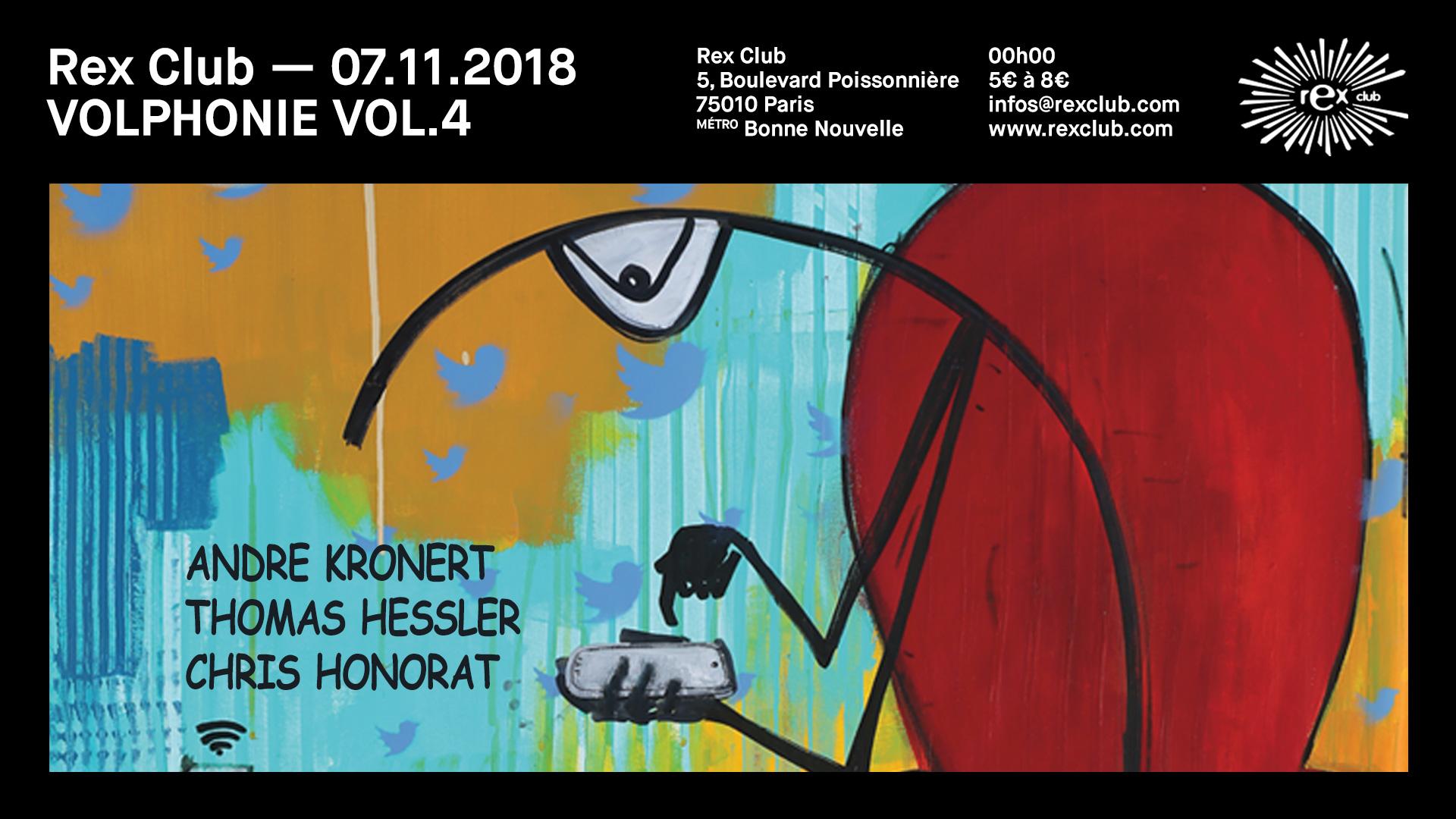 VOL.4 w/ Andre Kronert, Thomas Hessler & Chris Honorat