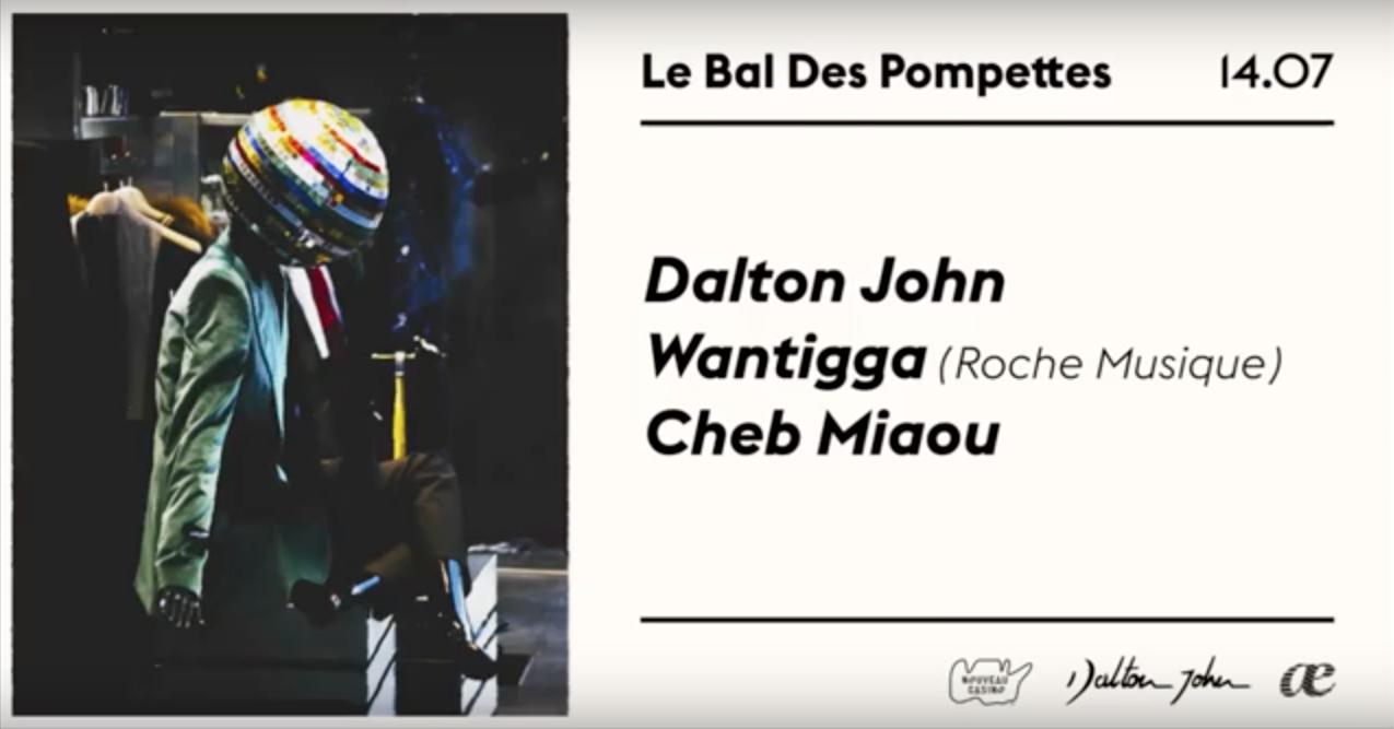 Dalton John & Togaether présentent : Le Bal des Pompettes