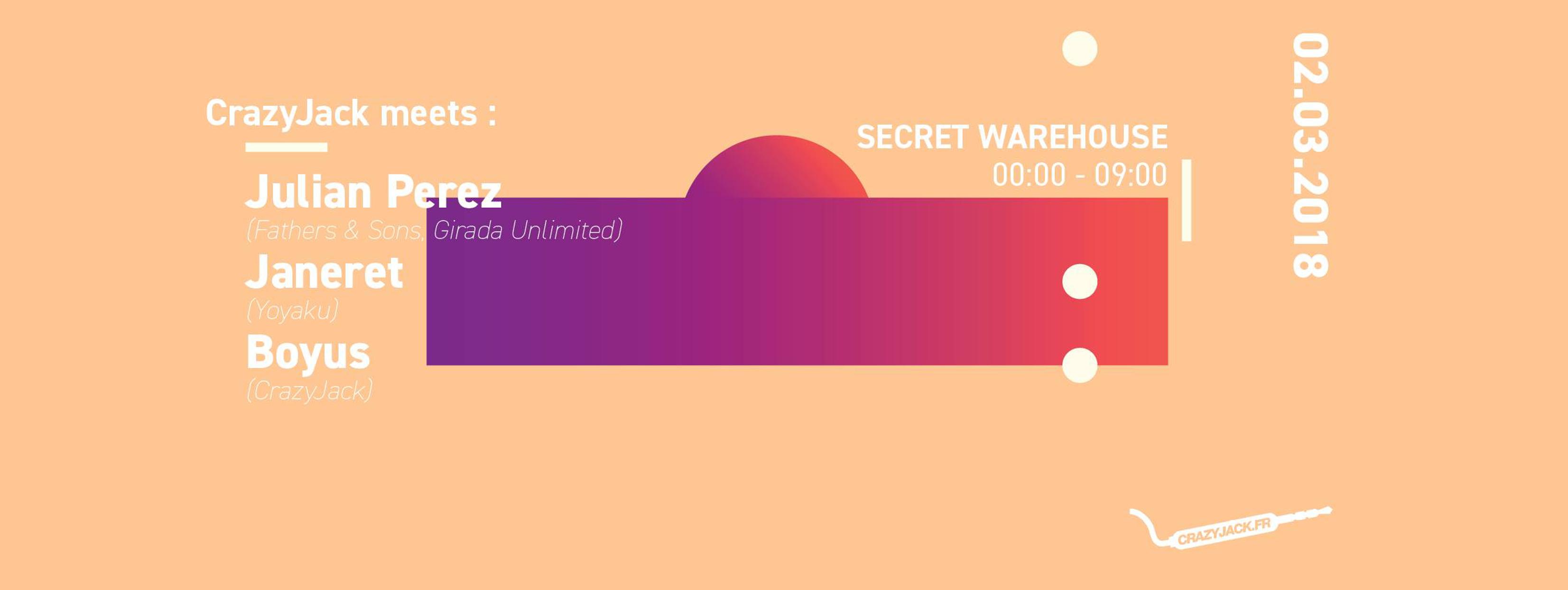 CrazyJack ● Secret Warehouse