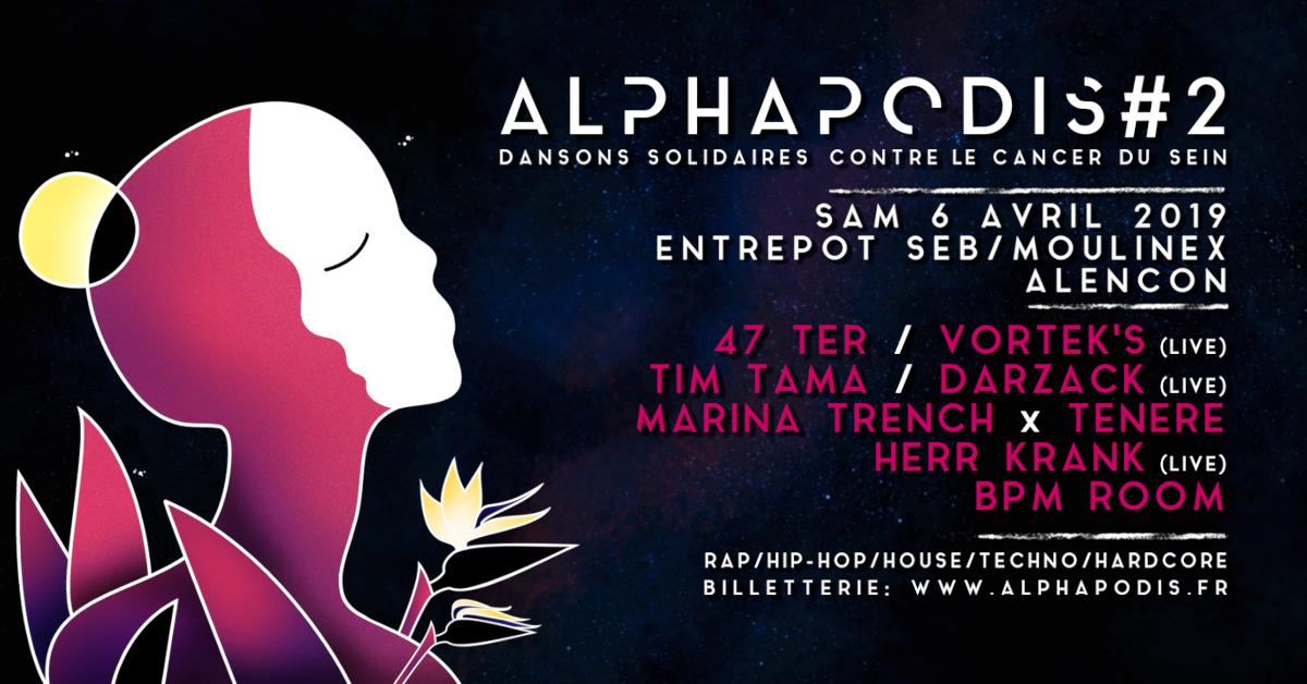 Festival Alphapodis #2 - Dansons solidaires