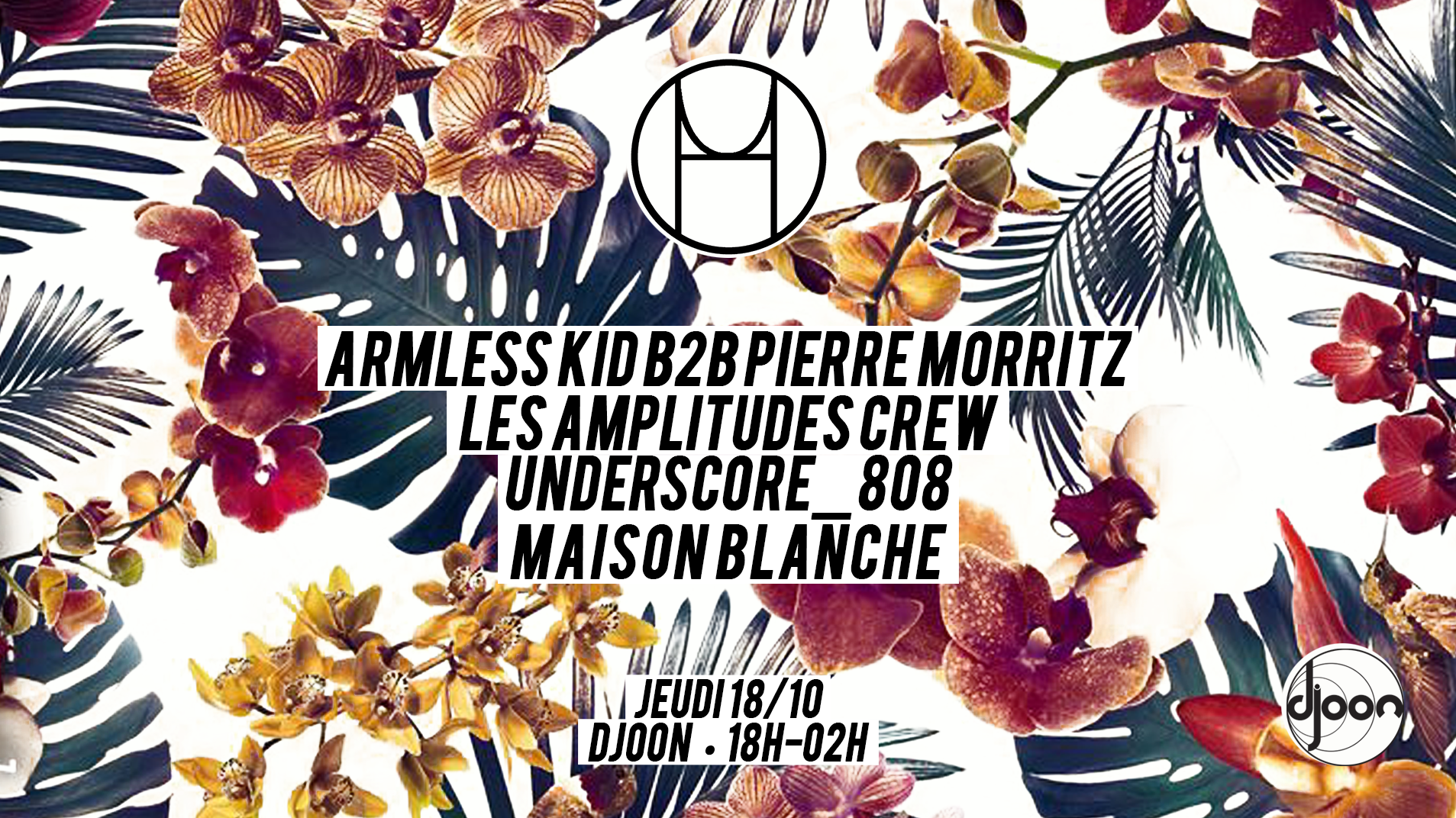 House Of Underground invite Armless Kid, Les amplitudes and more