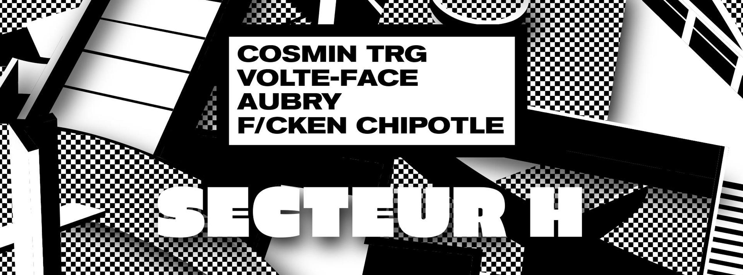 Secteur H w/ Cosmin TRG, Volte-Face, Teknomom