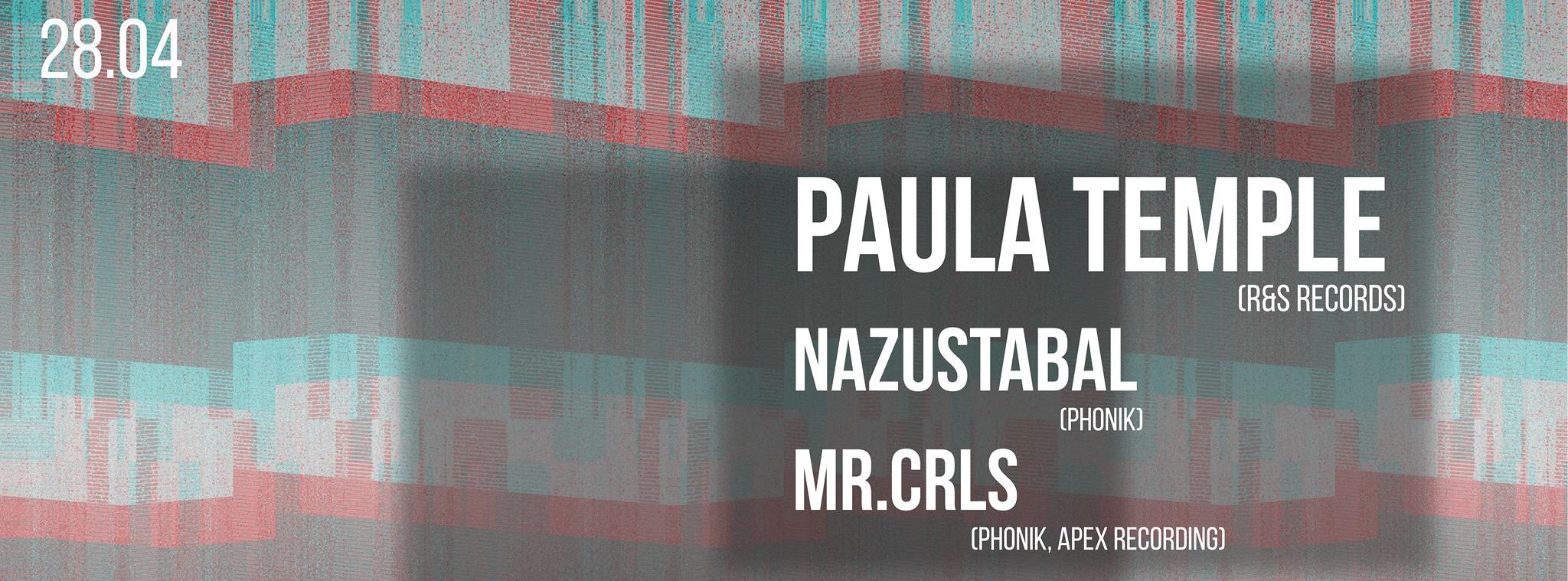 Phonik invite : Paula Temple (R&S Records)