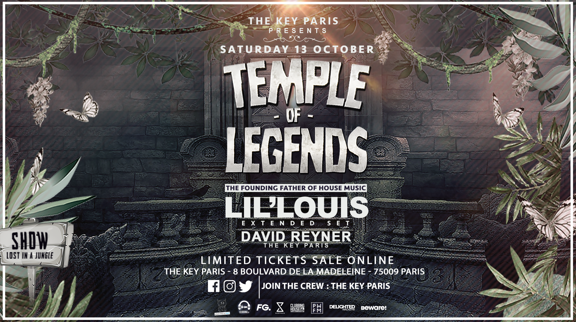 Temple of Legends : Lil' Louis (3 hours extended set)