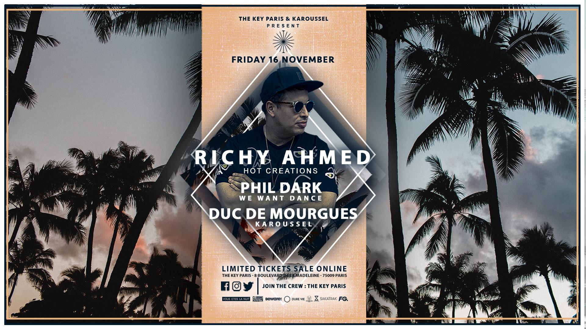 The Key x Karoussel : Richy Ahmed - Phil Dark - Duc de Mourgues