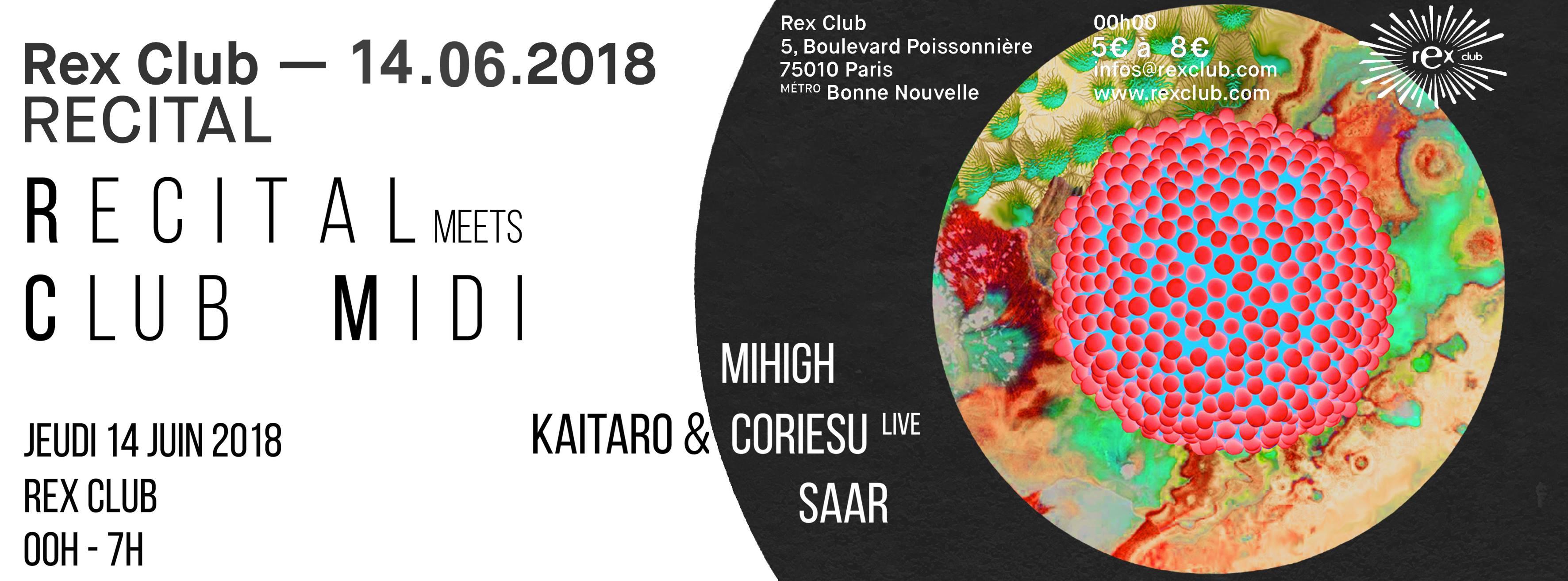 RECITAL MEETS CLUB MIDI